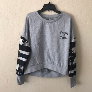 Sweaters - Crooks & Castles Cropped Sweater